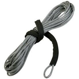 【USA在庫あり】 ムース MOOSE Utility Division ウインチ 合成繊維ロープ 長さ15m 太さ 5mm 耐 1、800Kg グレー 4505-0343 HD店