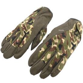 【メーカー在庫あり】 エスコ(ESCO) M 革手袋(合成革/迷彩色) 000012235285 HD