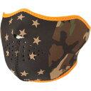 【USA在庫あり】 2503-0251 WNFM175H ザンヘッドギア ZAN Headgear ハーフフェイスマスク カモフラージュスターズ フリーサイズ