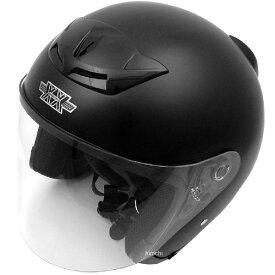 【メーカー在庫あり】 TNK工業 ジェットヘルメット XX-505 ハーフマットブラック XXLサイズ(62-64cm) 4984679511073 HD