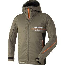 ゴールドウイン GOLDWIN GWSマルチフーデッドオールシーズンジャケット アーミーグリーン Mサイズ GSM12658 HD店