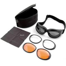 【USA在庫あり】 ボブスター BOBSTER ゴーグル クルーザー II 黒 (レンズ3セット) BCA2031AC HD店
