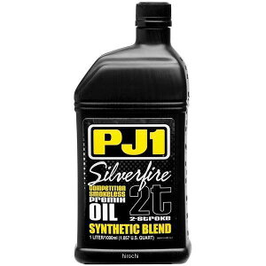 【USA在庫あり】 PJ1 化学合成 2st シルバーファイアー プレミックスオイル 1リットル 536097 HD店