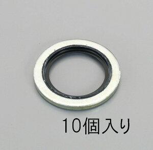【メーカー在庫あり】 エスコ ESCO M12 シールワッシャー (10個) 000012096167 HD