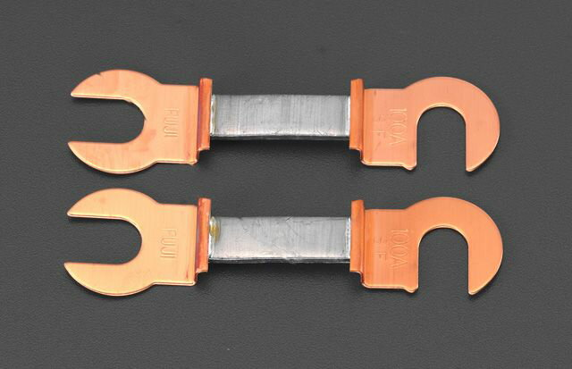 【メーカー在庫あり】 エスコ ESCO 20A/45mm 銅つめ付ヒューズ(2本) 000012048966 HD