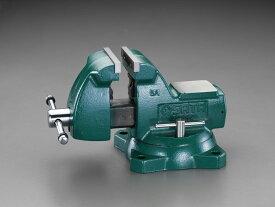 【メーカー在庫あり】 エスコ ESCO 125mm ベンチバイス(回転台付) 000012251803 HD店