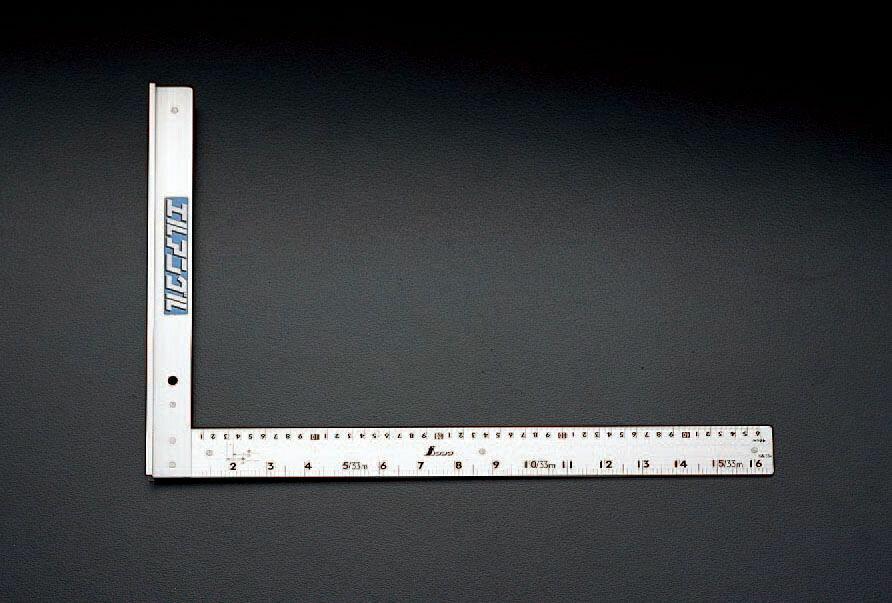【メーカー在庫あり】 エスコ ESCO 500mm 直角定規 000012017677 HD店