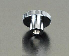 【メーカー在庫あり】 エスコ ESCO M4/φ16mm メスねじノブ スチール製 000012009085 HD