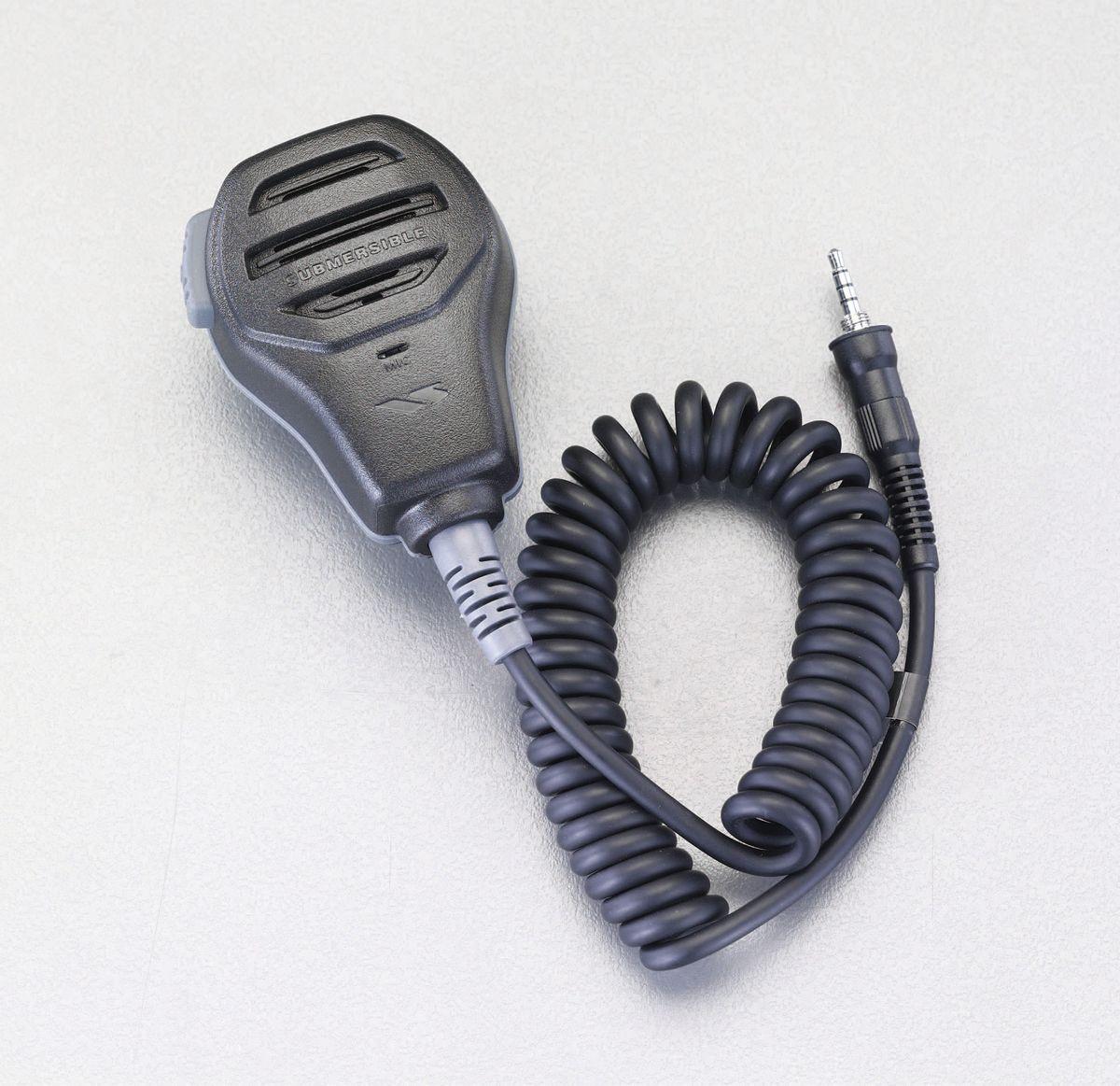 【メーカー在庫あり】 EA790MP-71 エスコ(ESCO) スピーカーマイク(防水型)