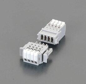 【メーカー在庫あり】 エスコ ESCO 300V/5A スクリューレス端子台(3P) EA940DM-73A HD店