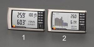 【メーカー在庫あり】 エスコ ESCO デジタル最高最低温度・湿度・気圧計 EA742CD-1 HD店