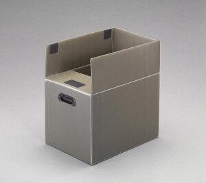 【メーカー在庫あり】 エスコ ESCO 456x323x350mm プラダンボックス(マジックテープ付) EA911BD-61 HD店