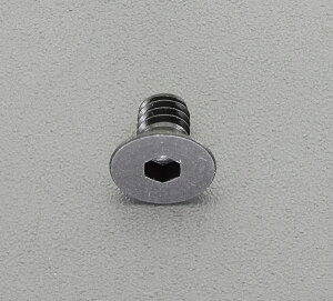 【メーカー在庫あり】 エスコ ESCO M 6x10mm六角穴付皿ボルト(ステンレス/黒色/4本) EA949MT-610 HD店