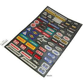 ファクトリーFX FACTORY EFFEX ステッカー、デカール スポンサーキット 33cm×48cm 4320-1352 HD店