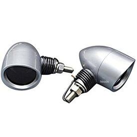 イージーライダース ショットウインカー バイザー付き スモークレンズ サチライトメッキ 4個入り 0585 HD店
