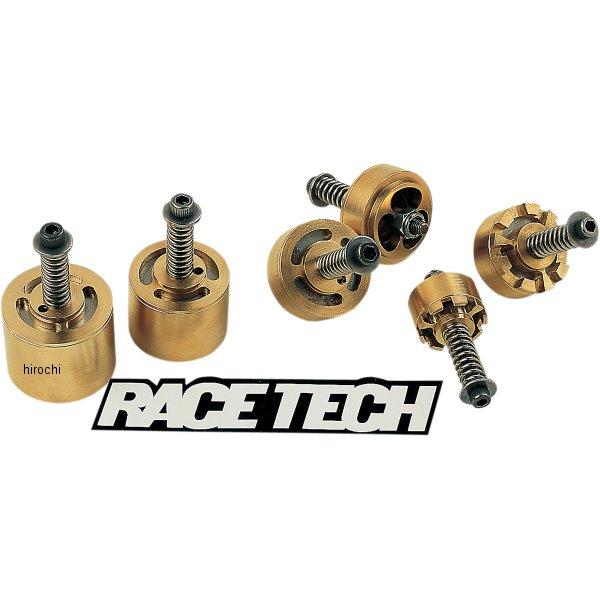 【USA在庫あり】 レーステック RACE TECH ゴールドバルブ フォークキット 92年-12年 ホンダ、カワサキ、スズキ FMGV-S2040 HD店