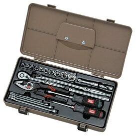 【メーカー在庫あり】 KTC 京都機械工具 工具セット (22点) SK322P-KC HD店