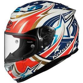 オージーケーカブト OGK KABUTO フルフェイスヘルメット RT-33 ACTIVE STAR 白 Mサイズ 4966094560539 HD店
