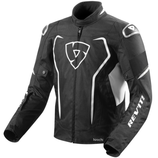 4549950552369 レブイット REVIT テキスタイルジャケット ヴェルテクスH2O 黒/白 Sサイズ