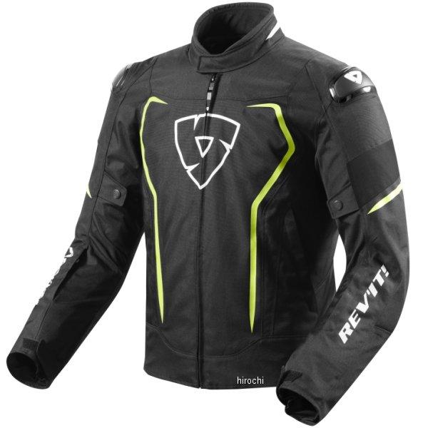 4549950552406 レブイット REVIT テキスタイルジャケット ヴェルテクスH2O 黒/ネオンイエロー Sサイズ