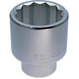 京都機械工具(株) KTC 25.4sq.ソケット(十二角)85mm B50-85 HD