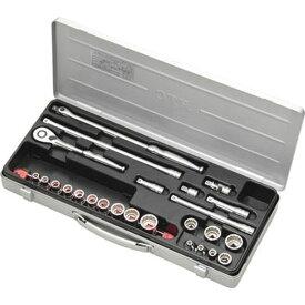 【メーカー在庫あり】 京都機械工具(株) KTC 9.5sq.ソケットレンチセット[25点] TB317X HD