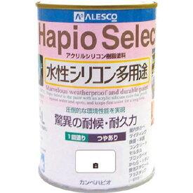 (株)カンペハピオ ALESCO ハピオセレクト0.4L 白 616-001-04 HD