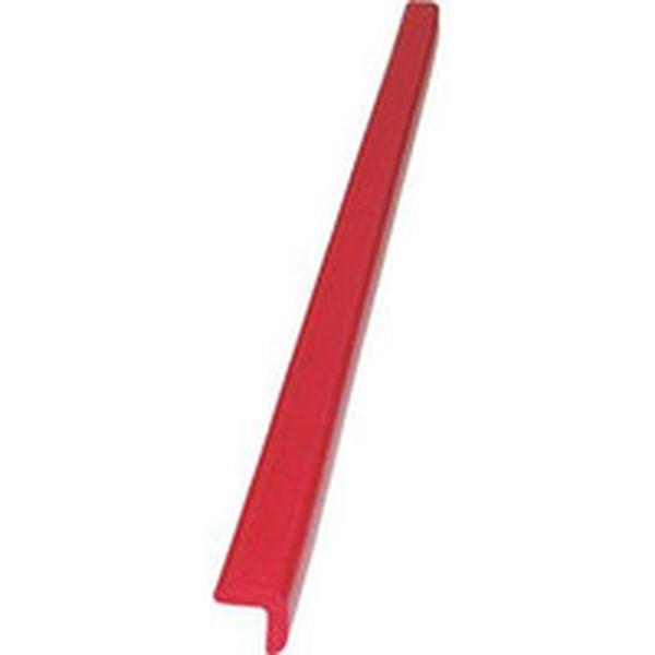 【メーカー在庫あり】 TAC01 437-6935 トラスコ中山(株) TRUSCO 安心クッションL字型90cm 大 レッド