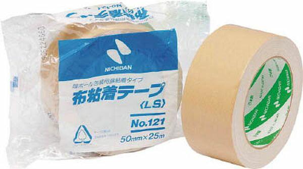【メーカー在庫あり】 ニチバン(株) ニチバン 布粘着テープNo.121 121-50 HD