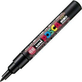 【メーカー在庫あり】 PC1M.24 三菱鉛筆(株) uni 水性顔料マーカー ユニポスカ極細 黒 PC1M-24 HD