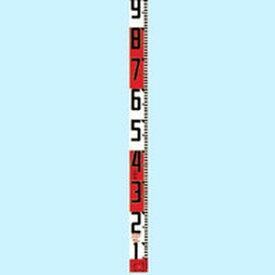 【メーカー在庫あり】 (株)TJMデザイン タジマ シムロンロッド長さ 5m/裏面仕様 20cmアカシロ/紙函 SYR-05P HD