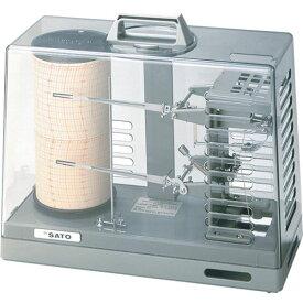 【メーカー在庫あり】 (株)佐藤計量器製作所 佐藤 シグマ2型温湿度記録計 7210-00 HD