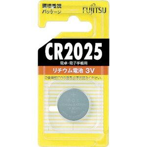【メーカー在庫あり】 CR2025CB  FDK(株) 富士通 FDK  リチウムコイン電池 CR2025 CR2025C-B HD店