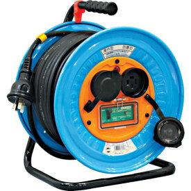 【メーカー在庫あり】 日動工業(株) 日動 電工ドラム 防雨防塵型三相200V アース漏電しゃ断器付 30m DNW-EB330-20A HD