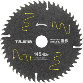 【メーカー在庫あり】 (株)TJMデザイン タジマ タジマチップソー 高耐久FS 造作用 145-52P TC-KFZ14552 HD