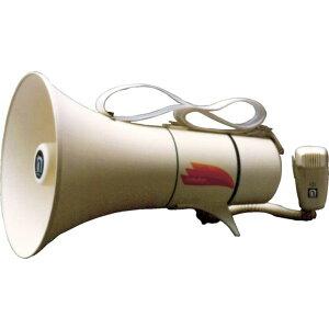 【メーカー在庫あり】 (株)ノボル電機製作所 ノボル ショルダータイプメガホン13Wホイッスル音付き(電池別売) TM-208 HD