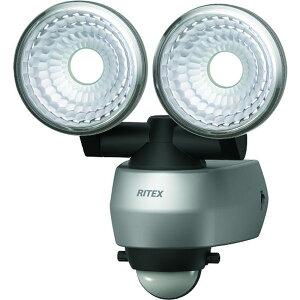 【メーカー在庫あり】 LEDAC315 (株)ムサシ ライテックス 7.5W 2灯 LEDセンサーライト LED-AC315 HD店