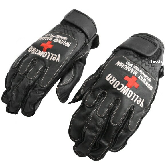 G-1001 イエローコーン YeLLOW CORN フィッシャー グローブ 黒 LLサイズ G-1001-BK-LL HD店