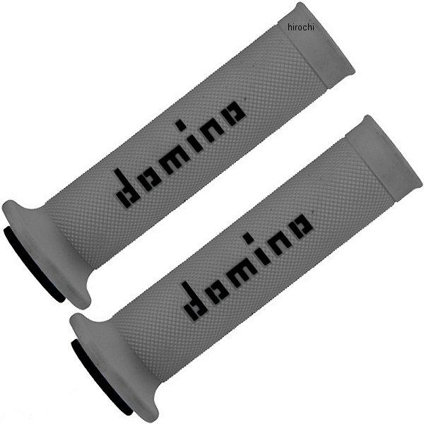 【メーカー在庫あり】 ドミノ domino グリップ レースタイプ 126mm グレー/黒 左右セット A01041C4052 JP店