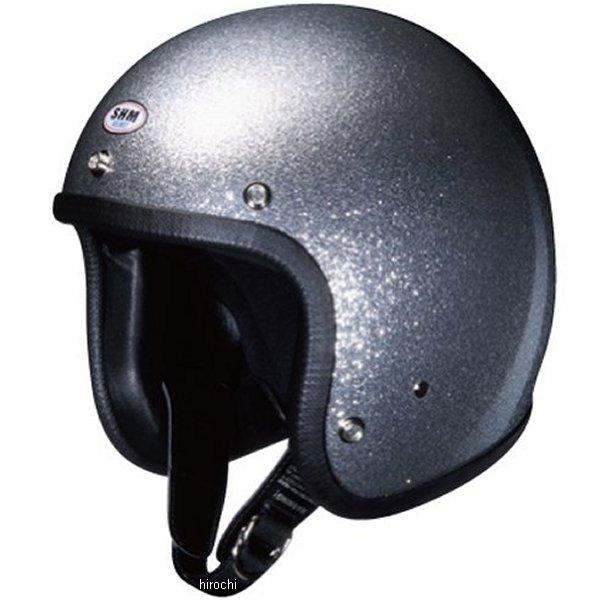 4955004040322 タチバナ SHM ヘルメット フレーク メタリックシルバー Mサイズ