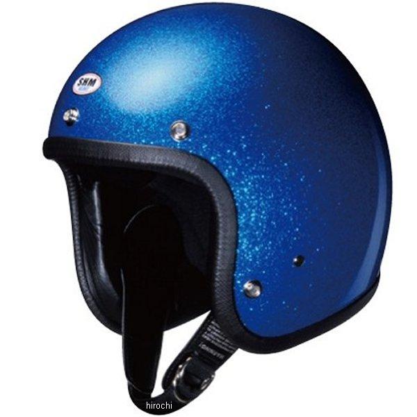 4955004040391 タチバナ SHM ヘルメット フレーク メタリックブルー Lサイズ