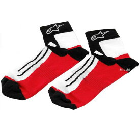 3431-0153 アルパインスターズ Alpinestars ソックス ロードレース用 黒/赤/白 L/XLサイズ 8033637711324 JP店
