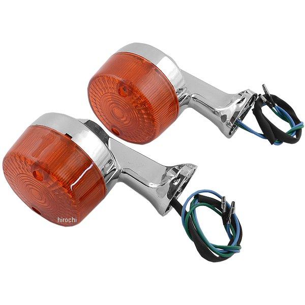 【メーカー在庫あり】 302807 NBS バイクパーツセンター リアウインカーセット スーパーカブ STD、DX オレンジ
