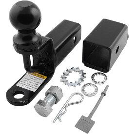 【USA在庫あり】 ムース MOOSE Utility Division レシーバー ヒッチ 2インチ(51mm) ボール付き 4504-0058 JP店