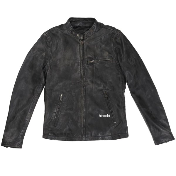 ライズ RIDEZ レザージャケット ACE 黒/ブラウン Mサイズ RLJ100A-M JP店