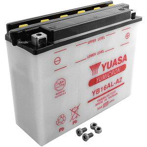 【USA在庫あり】 ユアサ YUASA バッテリー 開放型 YB16AL-A2 JP店