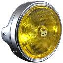 800-8016 マーシャル MARCHAL ヘッドライト 889 ドライビングランプ フルキット 180φ 汎用 黄/メッキ