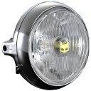 800-8204 マーシャル MARCHAL ヘッドライト 888 ドライビングランプ フルキット 160φ CB400FOUR、GS400、500SS クリア...