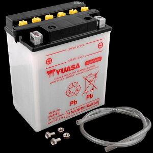 【USA在庫あり】 ユアサ YUASA バッテリー 開放型 YB14-A2 JP店