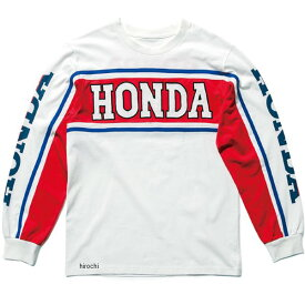 ホンダ純正 春夏モデル 80s トリコロールロングTシャツ トリコロール Sサイズ 0SYES-X5D-H JP店